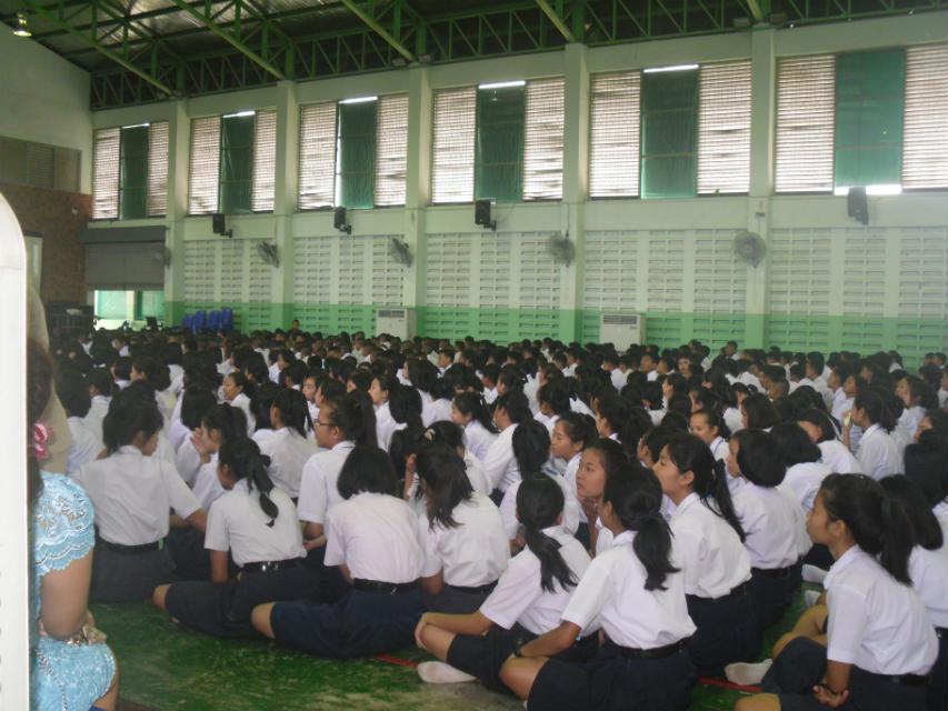 2014年盼达汉语赴泰国第四批对外汉语教师到岗小学国际新建设图片